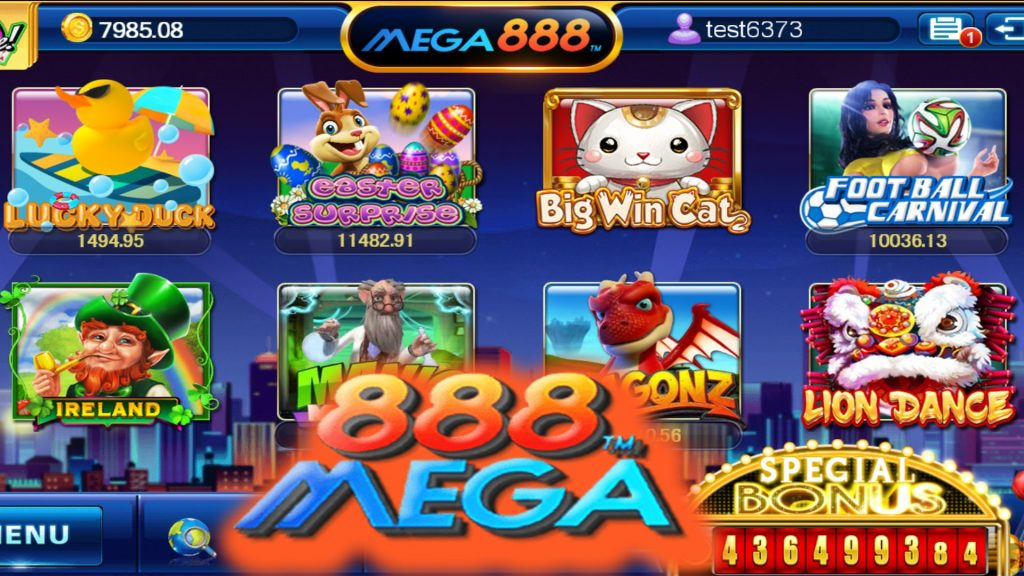 mega888 you can try small betting games a wide span of winning options